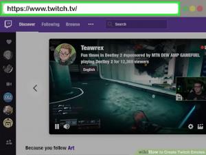Twitch Emotes website
