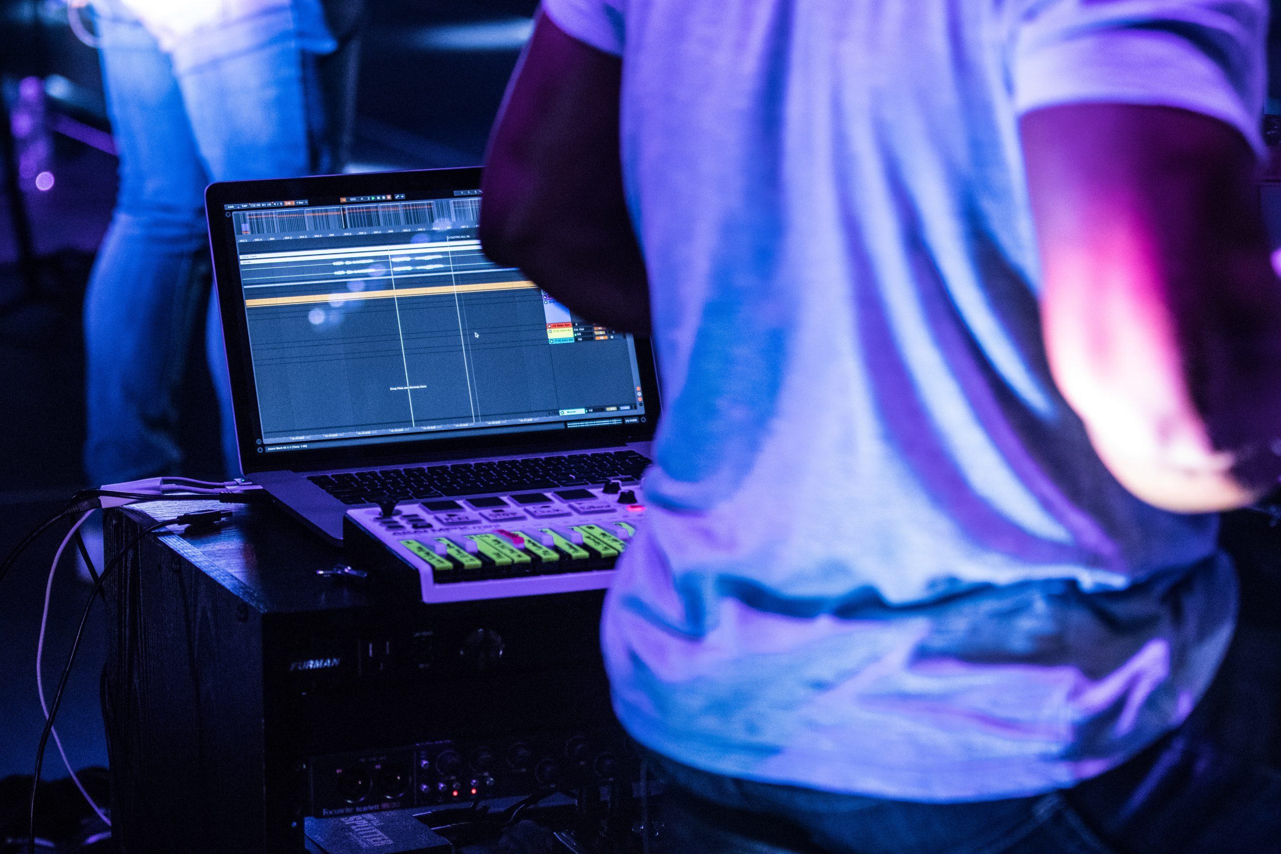 LapLaptop for Music Production