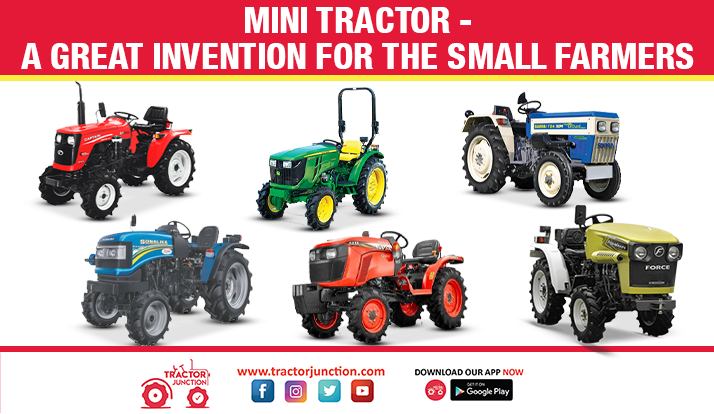 Mini Tractor - A Great Invention for The Small Farmers