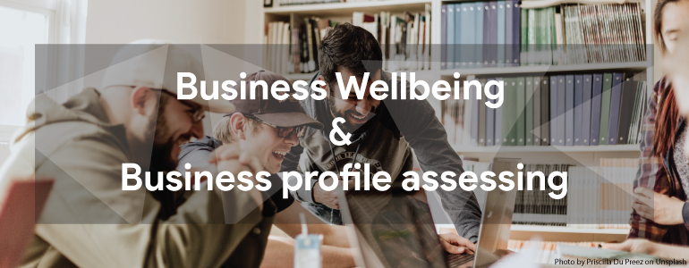 Business Wellbeing & Business profile assessing