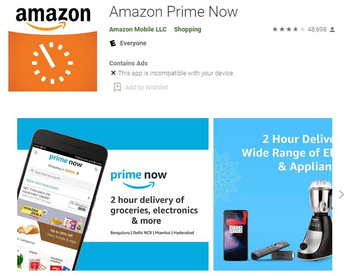 Amazon Fresh Online Grocery Shopping