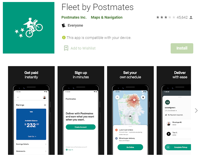Postmates-Online Grocery Shopping