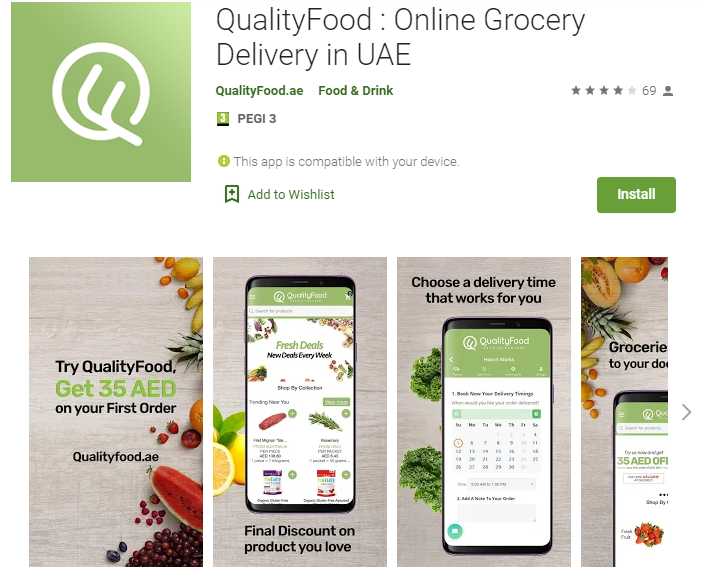 QualityFood-Online Grocery Shopping