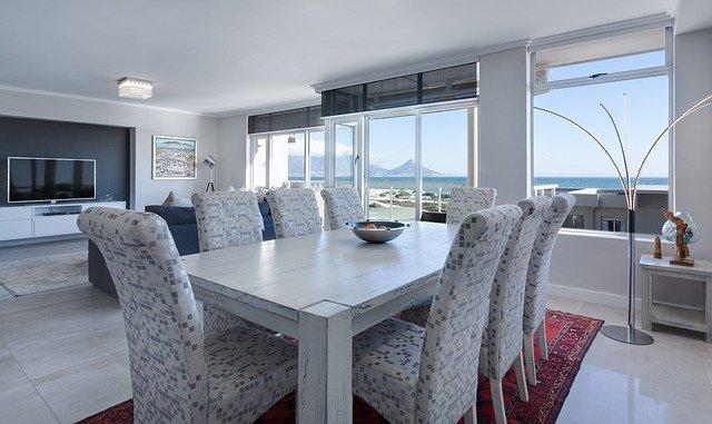 Hemp in dining room