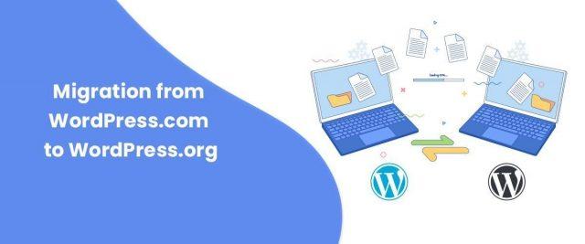 Migration from WordPress.com to WordPress.org